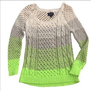 AMERICAN EAGLE OUTFITTERS Ombré Cable Knit Sweater